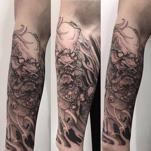 Votre inspiration pour Foo Dog Tattoo
