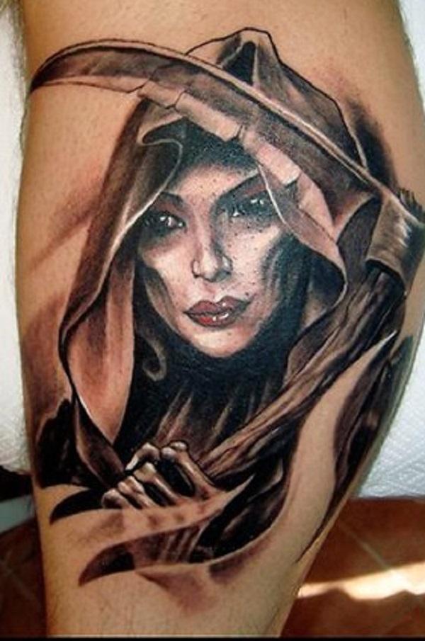 50 conceptions de tatouage de Grim Reaper