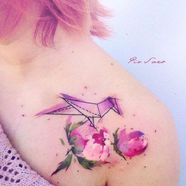 50 conceptions de tatouage de pivoine