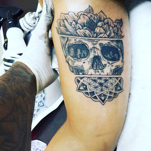 Meilleur 125 tatouages de crâne de kick-ass pour les hommes et les femmes