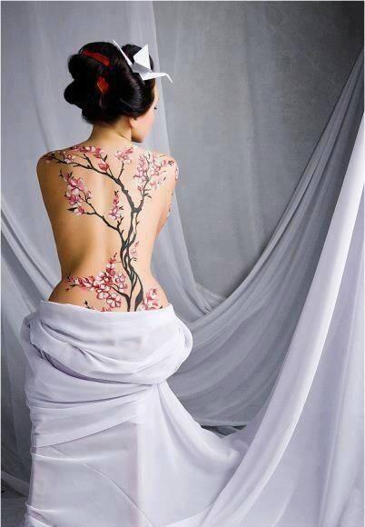 Top 5 des idées pour les tatouages du corps entier