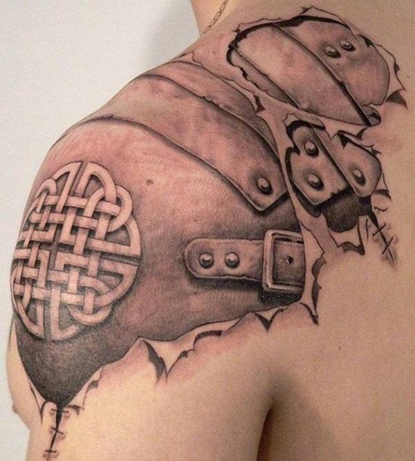 40 tatouages de peau déchirés cool et étonnants
