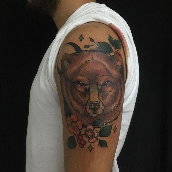 Conceptions de tatouage de grand ours