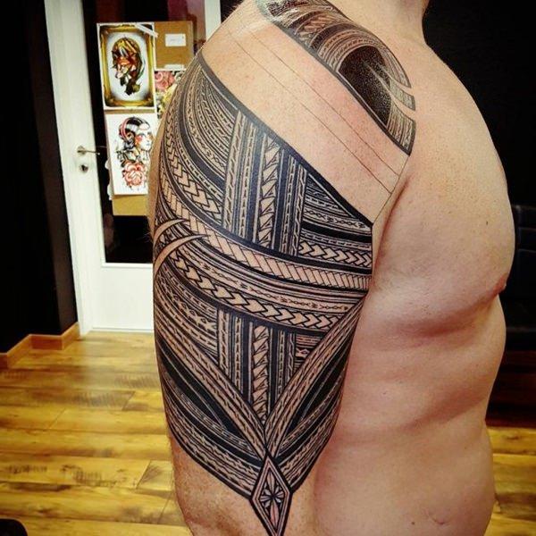 Meilleur 125 modèles de tatouage polynésiens les mieux notés cette année