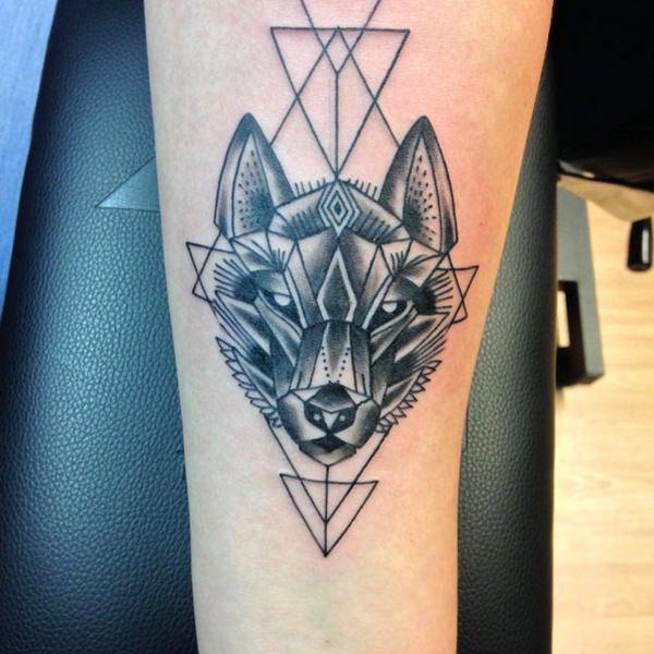 125 conceptions de tatouage de loup les plus frais