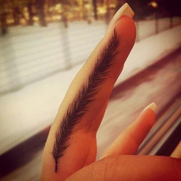 35 belles conceptions et significations de tatouage de plume