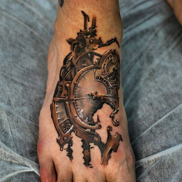 Tatouages Steampunk - Fabulous Elements and Designs