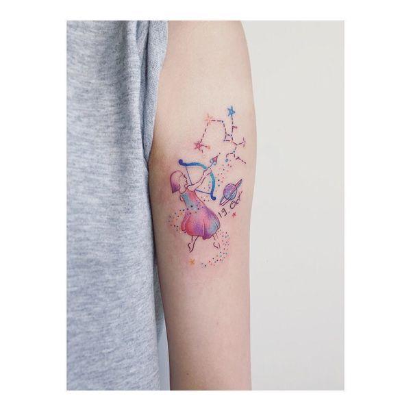 34 conceptions de tatouage Sagittaire
