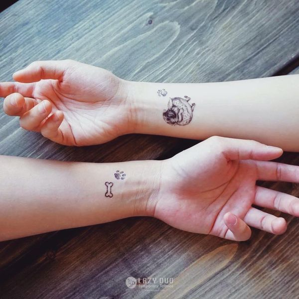 Meilleur ami tatouage - 48 idées d'amitié