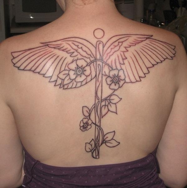 35 conceptions de tatouage Caduceus incroyable pour vous tous