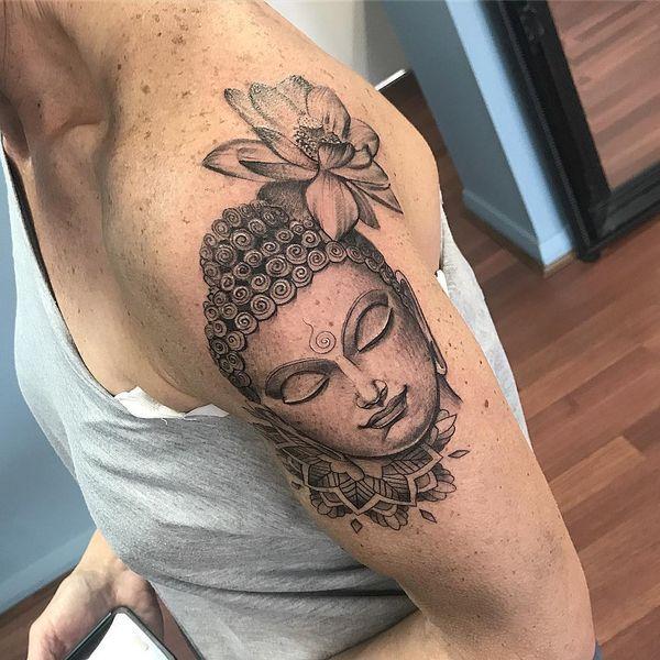 Idées de conception de tatouages de Bouddha