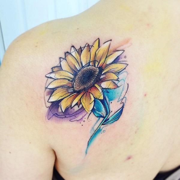 aquarelle-tournesol-tatouage-62