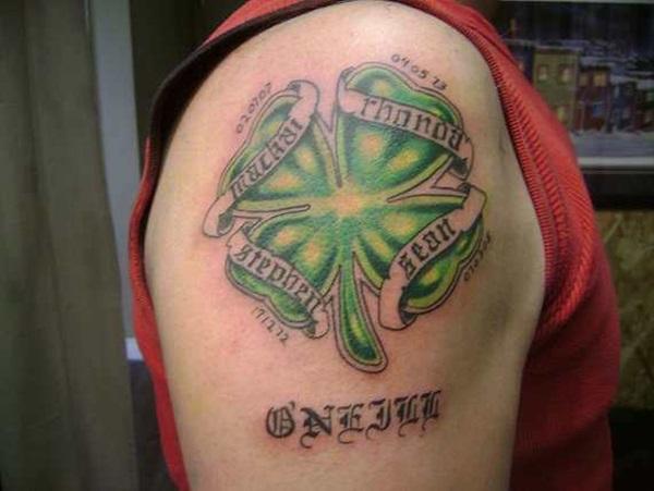 Belles idées pour les tatouages de trèfle et de trèfle