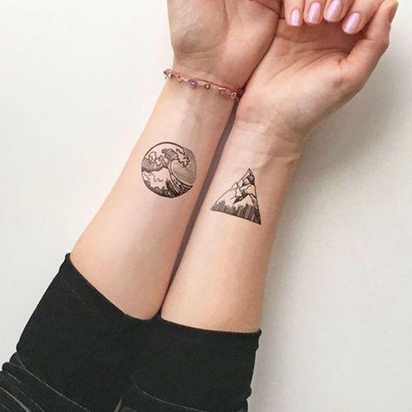 Symbole Representant Frere Et Soeur